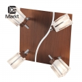 DeMarkt № 518021004   (Лайн) спот (без лампочек в комплекте)